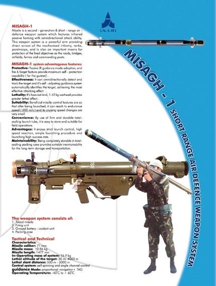 l'industrie militaire iranienne Misagh10