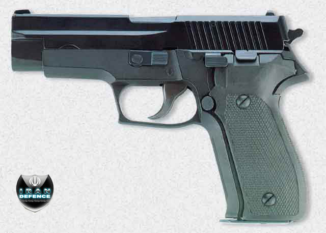 l'industrie militaire iranienne Pistol11