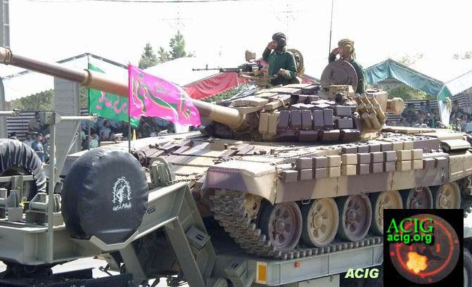 l'industrie militaire iranienne T-72z-10