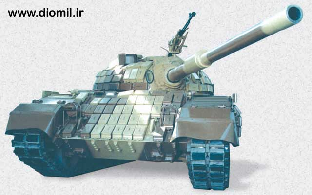 l'industrie militaire iranienne T72z10