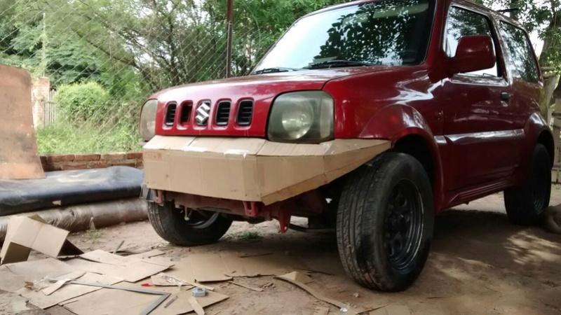 Bumper para jimmy Fcc12d10