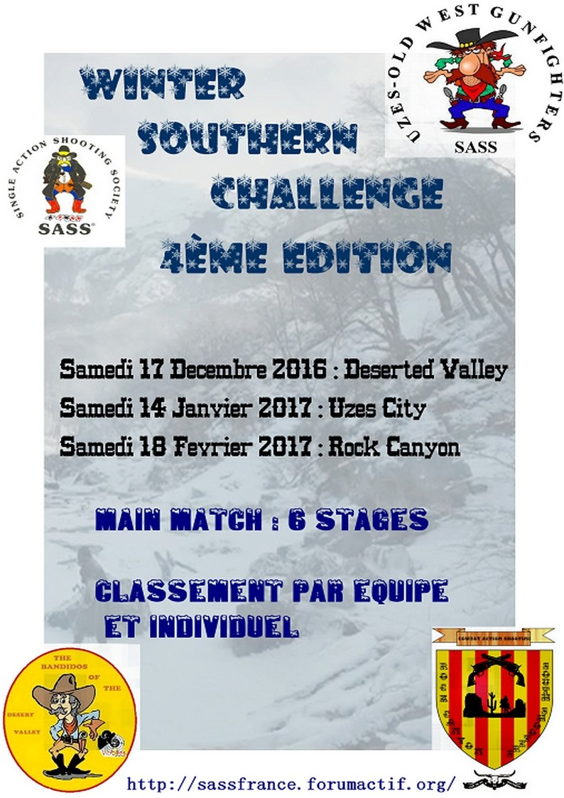 Winter Southern Challenge 2017 Affich13