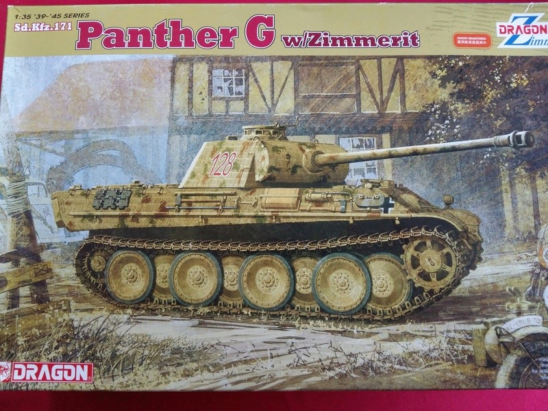 Sd.Kfz.171 Panther G avec Zimmerit - Dragon 6384 - 1/35  20161248