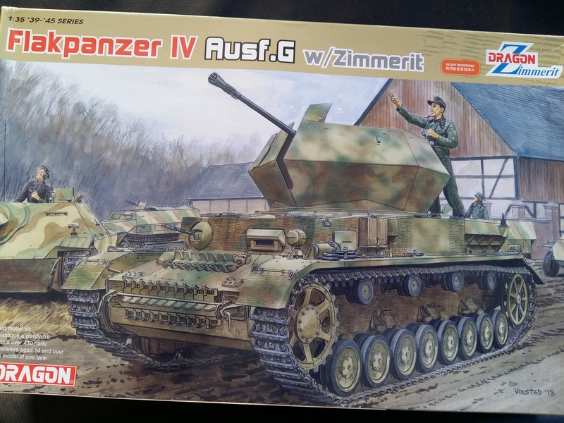 Flakpanzer IV Ausf.G avec Zimmerit - Dragon 1/35 20161265