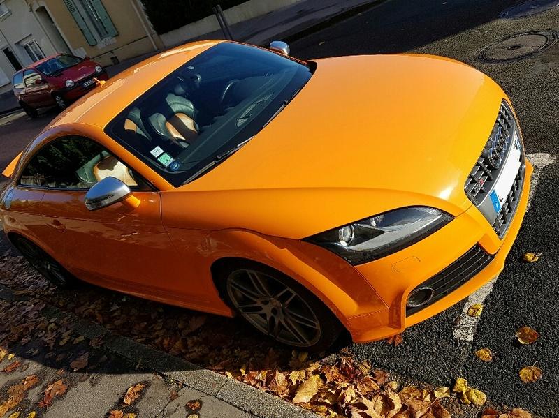 Audi TTS Orange Magma 20161116
