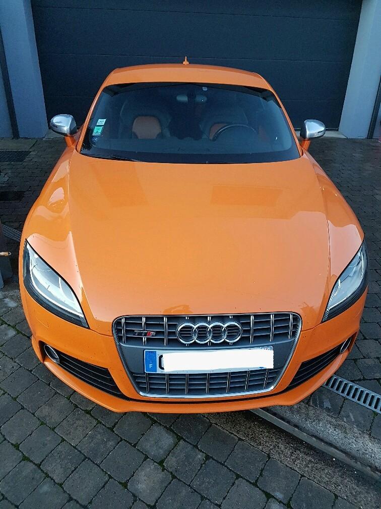 Audi TTS Orange Magma 20161117