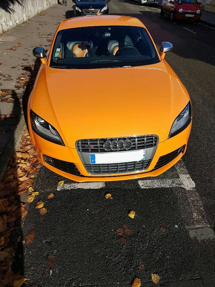 Audi TTS Orange Magma 20161120