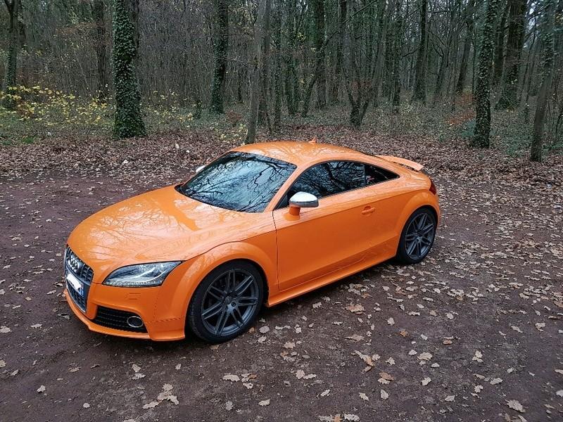 Audi TTS Orange Magma 20161121