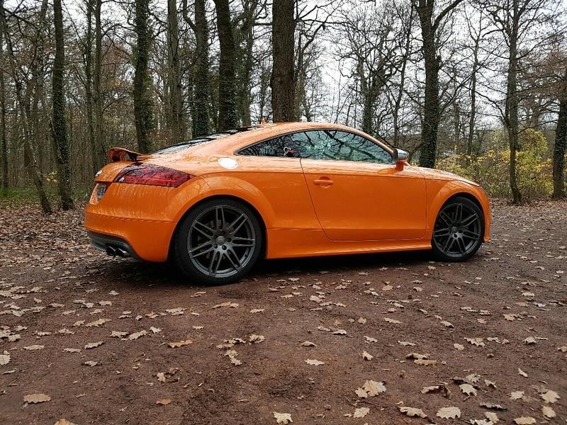 Audi TTS Orange Magma 20161123