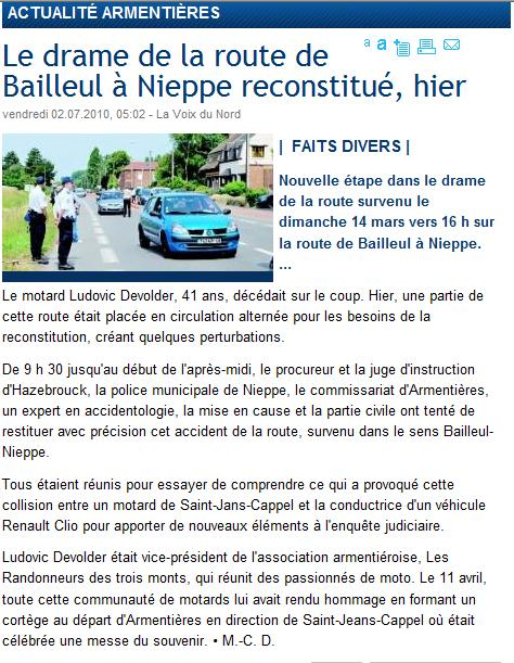 reconstitution sur Nieppe Lu10
