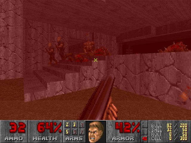 Doom II: Hell on Earth *LET'S PLAY!* Screen93