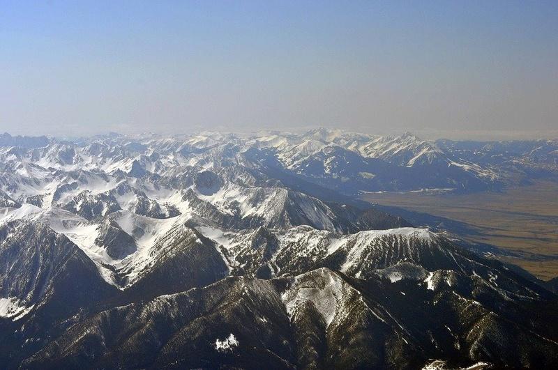 Paysages enneigés de l'Amérique du nord 15094410