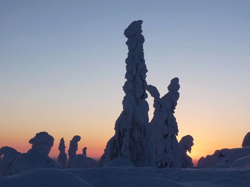 paysages enneigés de la finlande Finlan10