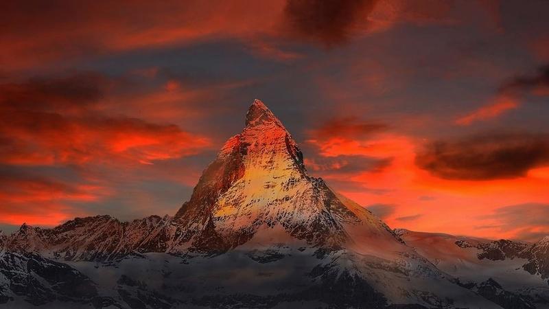 Paysages enneigés de la Suisse Suisse10