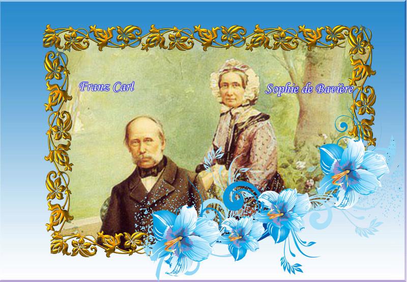 Montages des membres de la famille de Sissi et de franz Vipta201