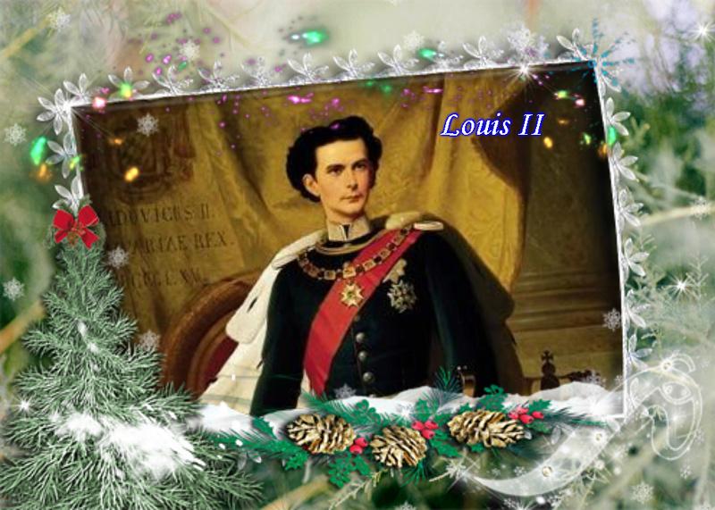 Montages de Louis II de Bavière et sa famille  Vipta286