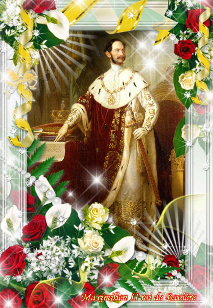 Montages de Louis II de Bavière et sa famille  Vipta310