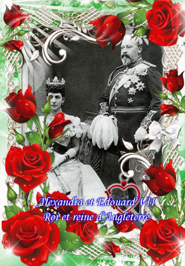 Montages des rois et reines d'angleterre Vipta312