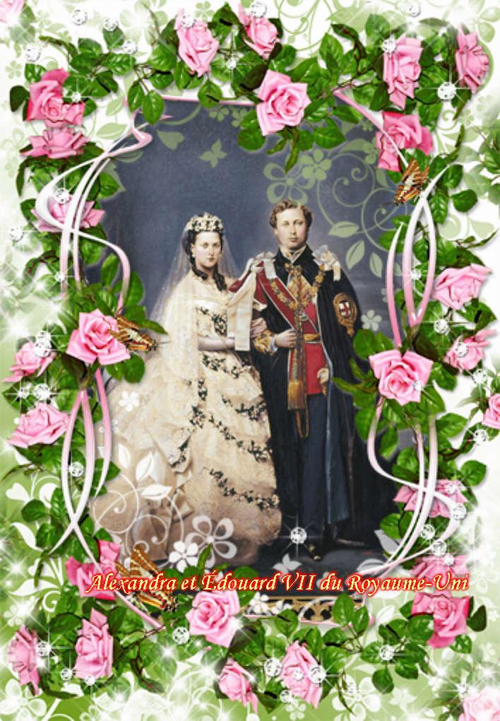 Montages des rois et reines d'angleterre Vipta314