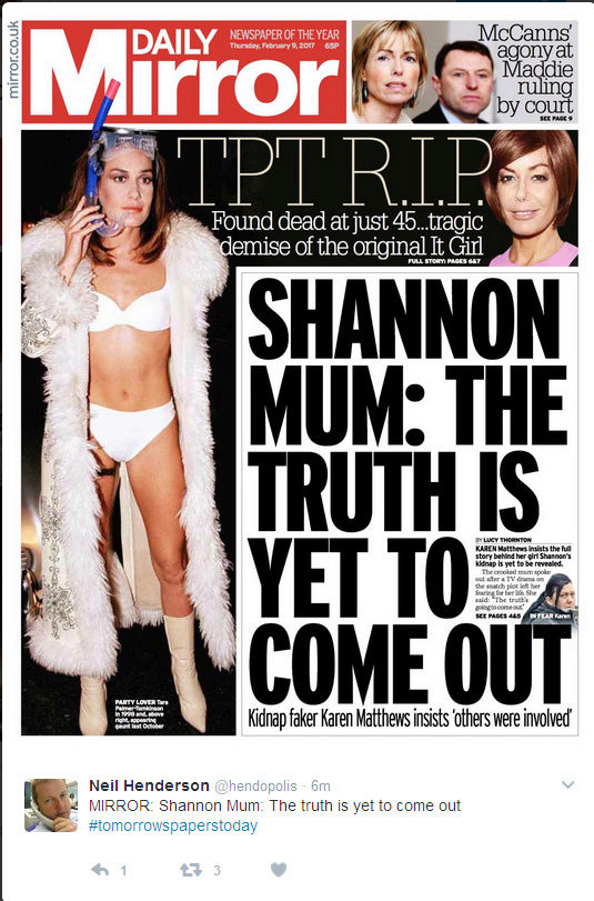 CRIME THAT ROCKED BRITAIN A mother's betrayal and comparisons with Madeleine McCann: How the 'disappearance' of Shannon Matthews sparked a class war - Page 2 Shanno10