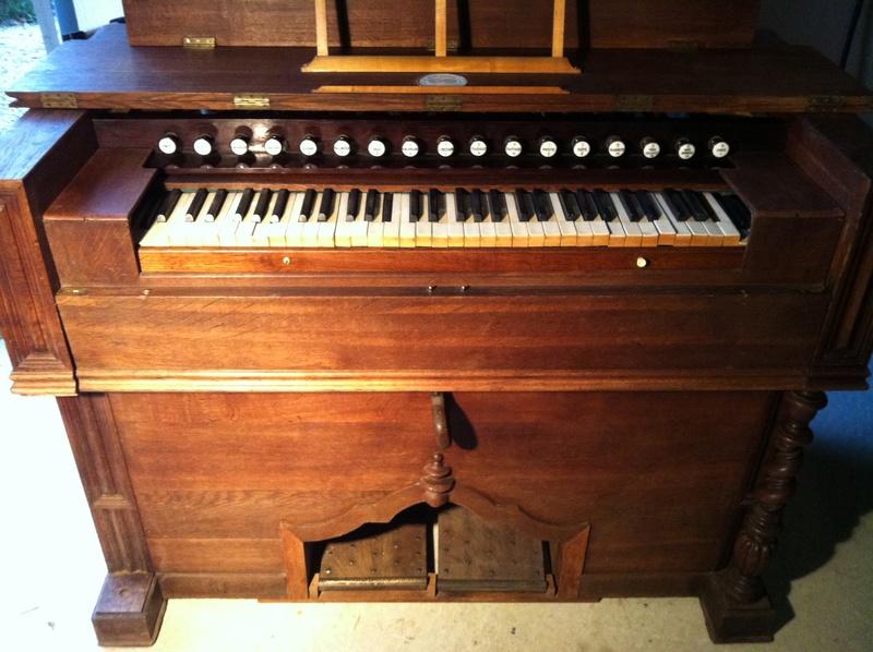 VENTE Rare Harmonium FOURNEAUX et son traité ... Fourne10