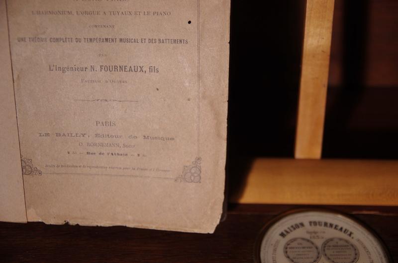 VENTE Rare Harmonium FOURNEAUX et son traité ... Fourne14