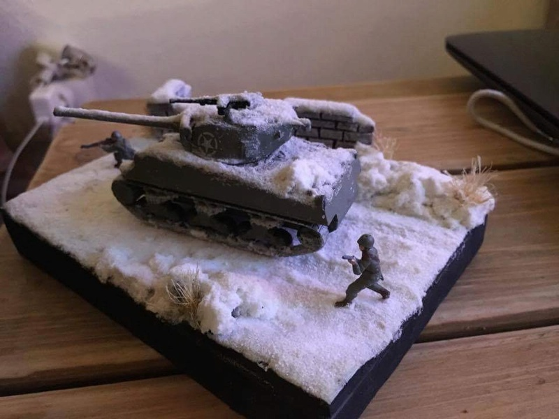 Sherman sous la neige 1/72 - Page 2 Image13