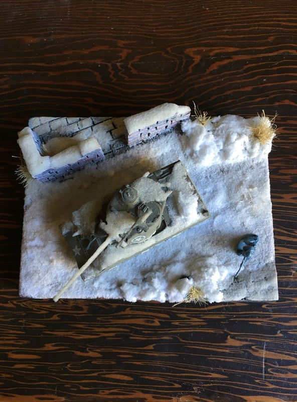 Sherman sous la neige 1/72 Img_4510