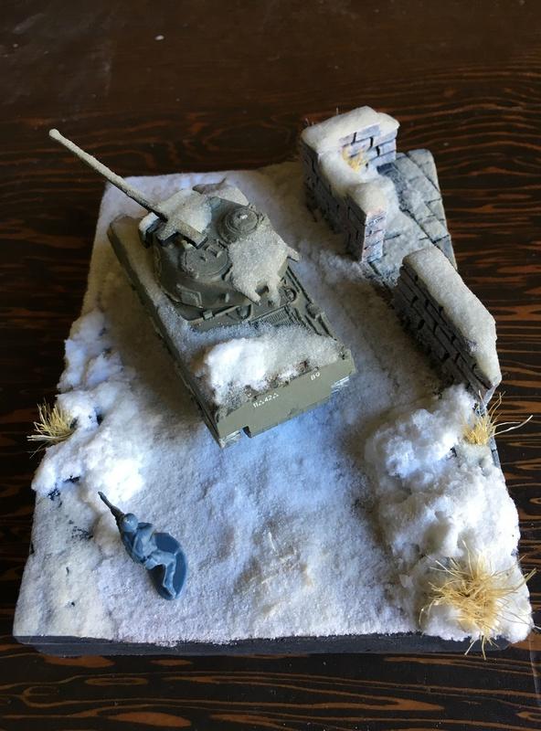 Sherman sous la neige 1/72 Img_4512