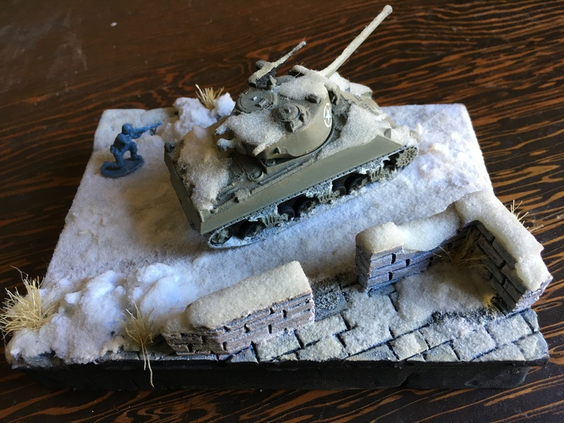 Sherman sous la neige 1/72 Img_4514