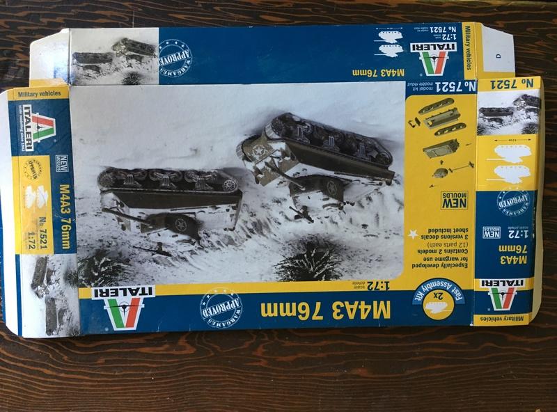 Sherman sous la neige 1/72 Img_4516