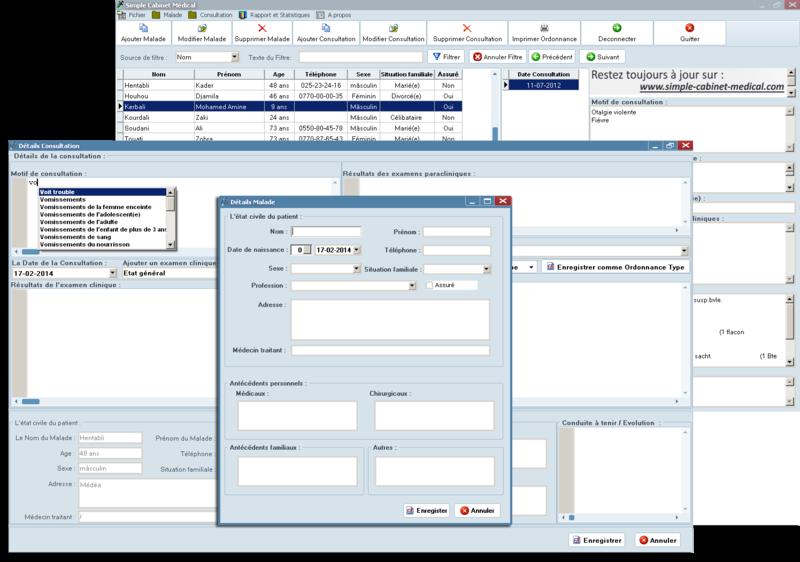 [logiciel]:Simple Cabinet médical:gestion des dossiers médicaux Slider10