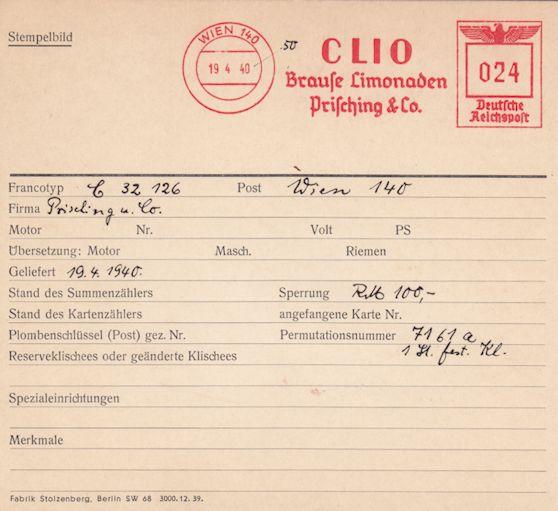 Österreichische Absenderfreistempel  C3212610