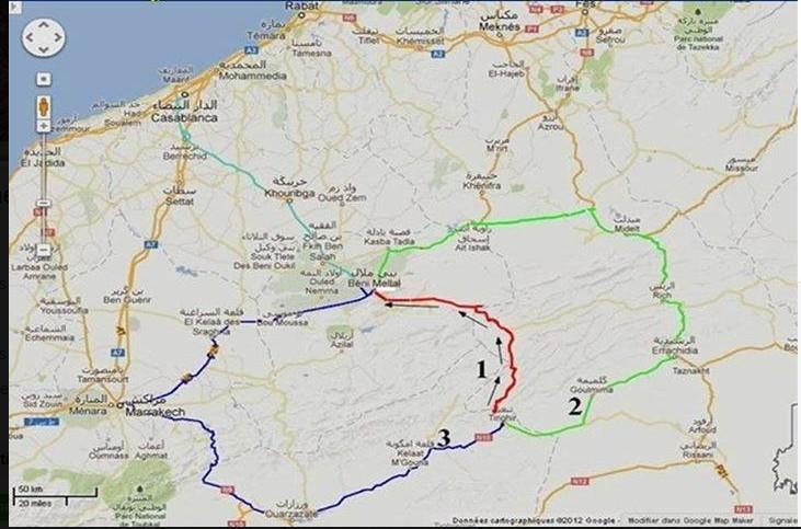 [Carburant, Routes, Police] nouvelle route entre tinghir et beni mellal  Route_10