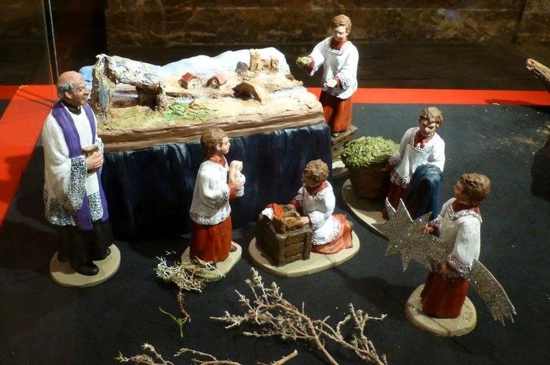Crèches d'Espagne, église St-Remacle Liège. Enfant12