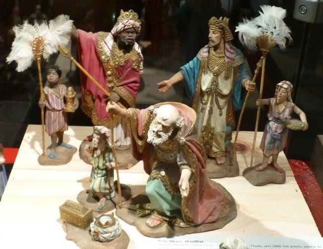 Crèches d'Espagne, église St-Remacle Liège. Mages_11
