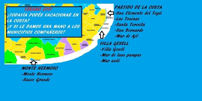 """Los 3 municipios """"compañeros"""" en el que veranean los K 00113"""