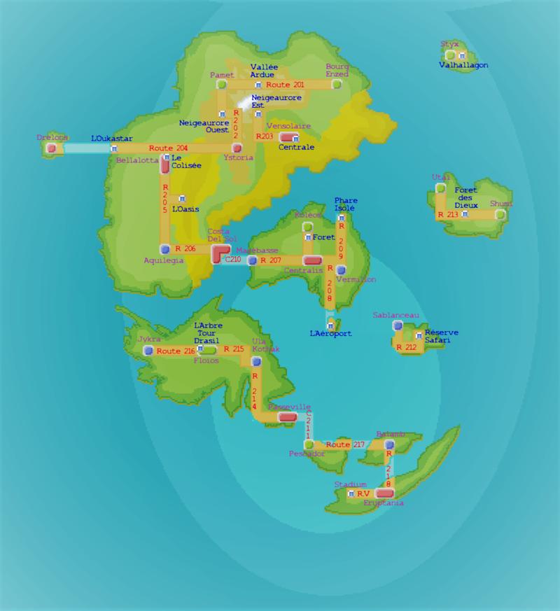 Contexte de la région & Cartes Map10