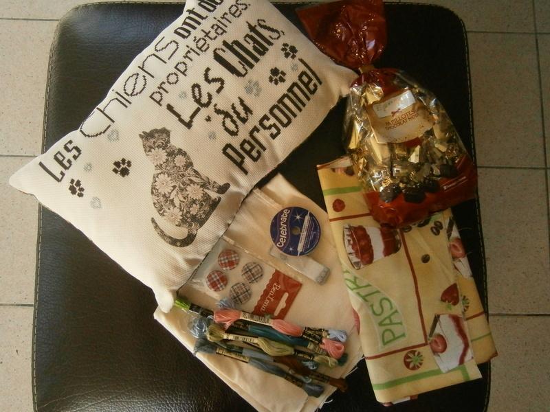 Echange de Noël reçu de Mireillos Pc270011
