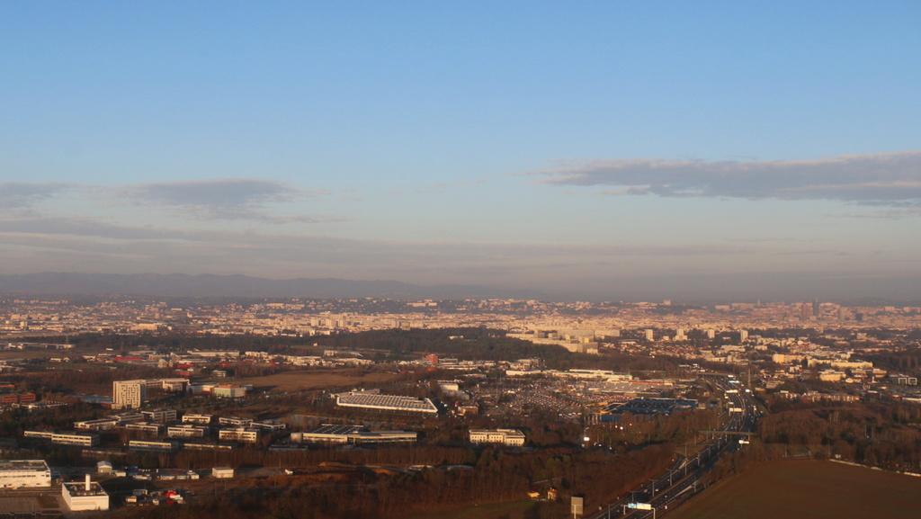 Vol en R44 Lyon-Bron Cannes , 11/02/2017 Img_0336