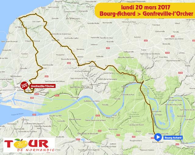 TOUR DE NORMANDIE --F-- 20 au 26.03.2017 N110