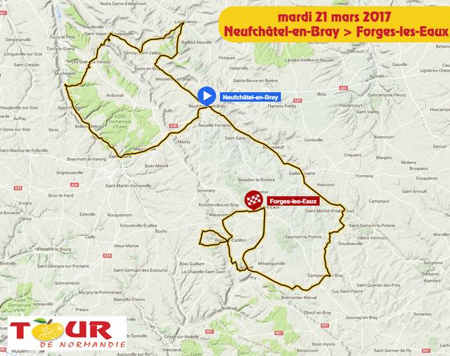 TOUR DE NORMANDIE --F-- 20 au 26.03.2017 N210