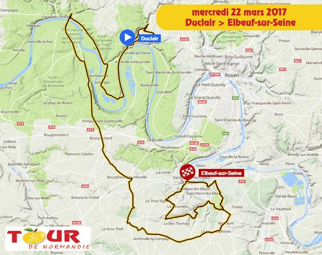 TOUR DE NORMANDIE --F-- 20 au 26.03.2017 N310
