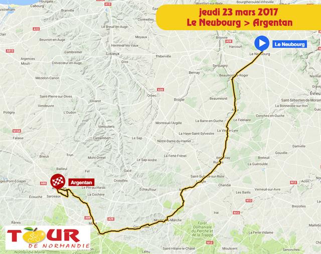 TOUR DE NORMANDIE --F-- 20 au 26.03.2017 N410