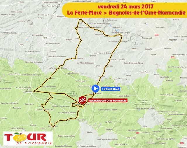 TOUR DE NORMANDIE --F-- 20 au 26.03.2017 N510