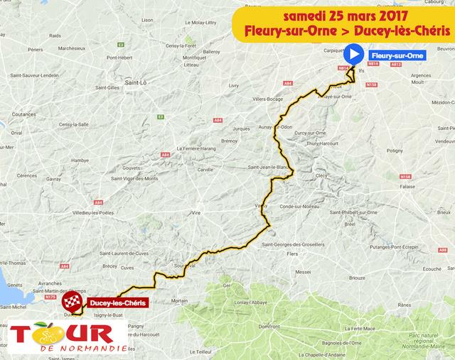TOUR DE NORMANDIE --F-- 20 au 26.03.2017 N610