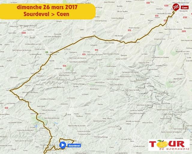 TOUR DE NORMANDIE --F-- 20 au 26.03.2017 N710