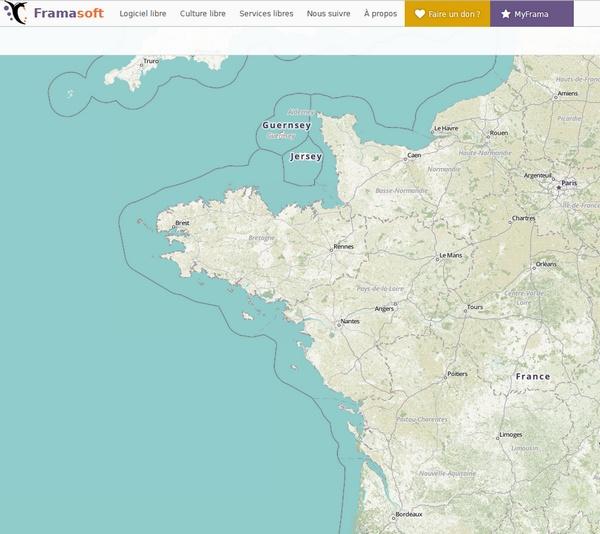 BANQUE DE CARTES (MAPS) Fra10