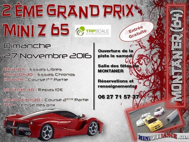2éme Grand Prix Mini-Z 65 le 27 Novembre 2016 Affich15