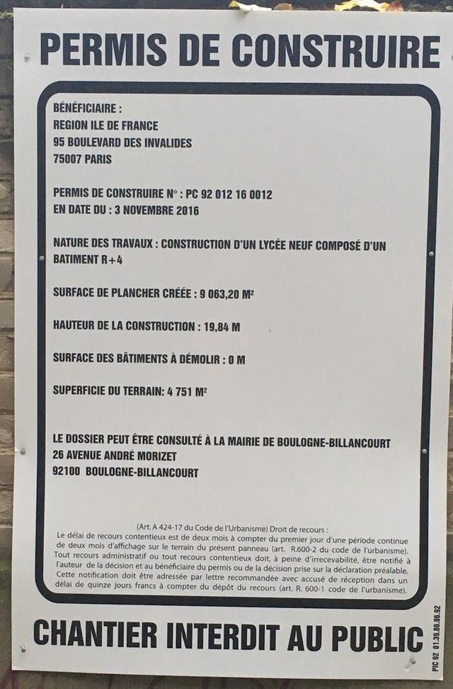 Informations sur le lycée du trapèze Clipb128
